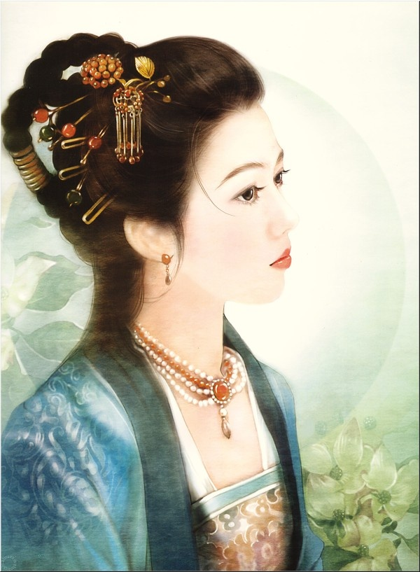 #Asian Art Chinese girl ~~~ For more:  - ✯ http://www.pinterest.com/PinFantasy/arte-~-la-mujer-en-el-arte-chino-women-in-chinese-/