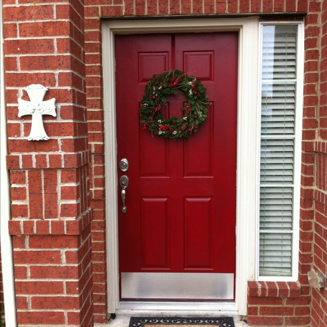 17 best images about front door on pinterest red front Best red for front door