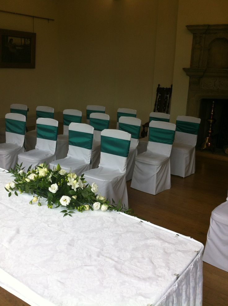 The Great Chamber with covered chairs