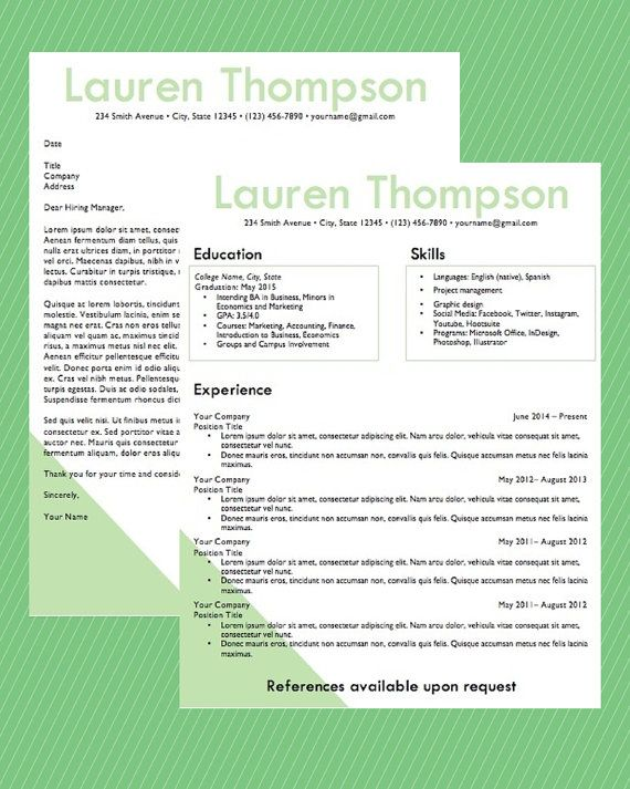 17 best InspireBranding Resume Design images on Pinterest Design - resume download in word