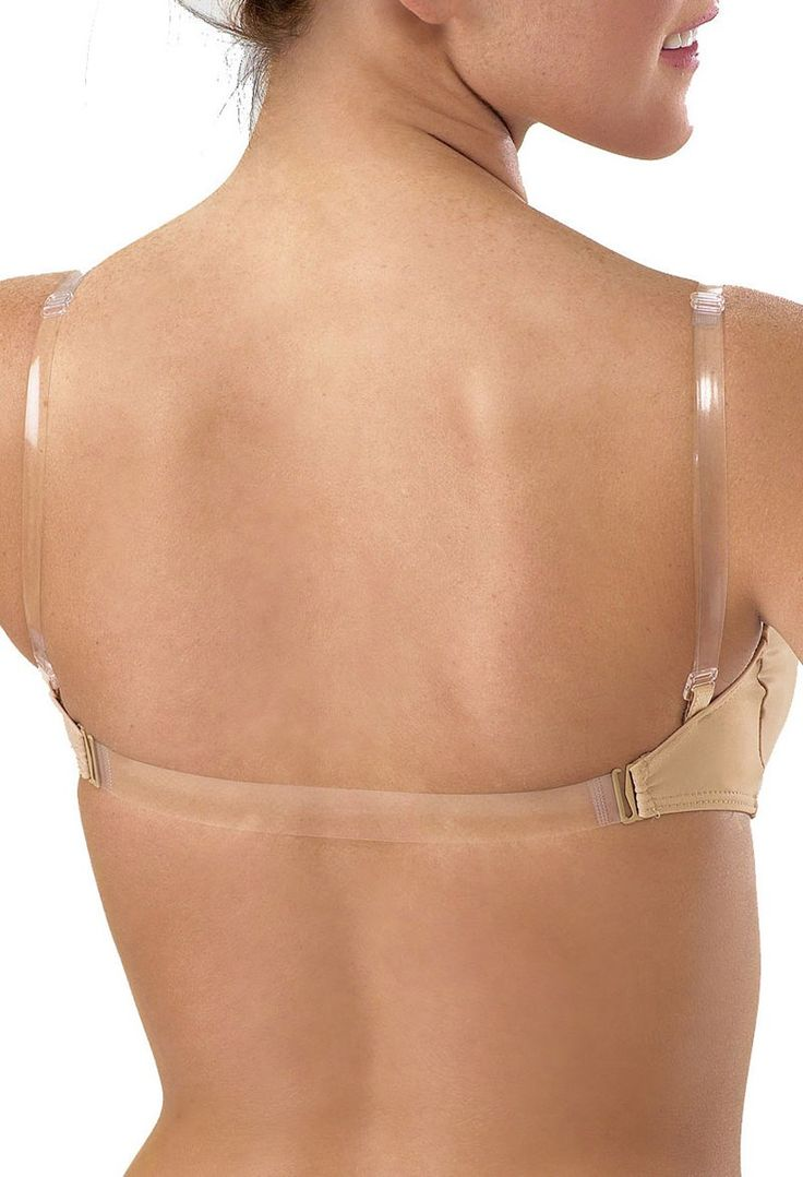 Padded Bra with Clear Straps | Body Wrappers