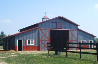 barn kits for sale | Pole Barns Kits Sale http://www.thebarnpages.com/newbarnsforsale.cfm ...