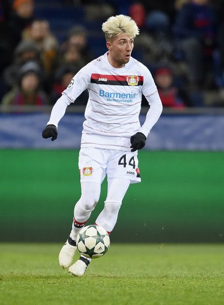 Kevin Kampl of Bayer 04 Leverkusenvie in action during the UEFA Champions League match between PFC CSKA Moskva and Bayer 04 Leverkusen at Arena CSKA stadium on November 22, 2016 in Moscow, .