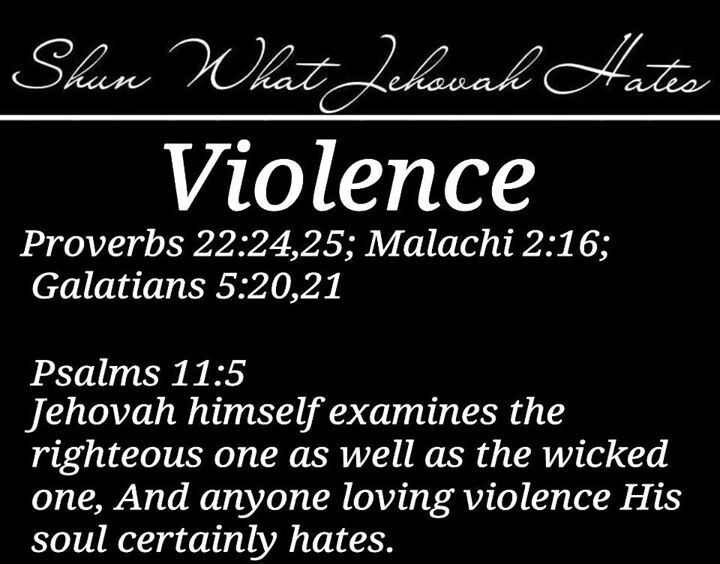 Violent Bible Quotes 15 Best Jehovah Hates Quotes Images On Pinterest  Bible Truth
