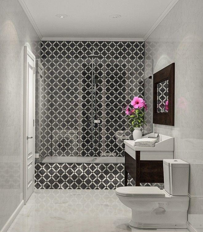 Ванная комната.  Дизайн интерьера квартиры в стиле минимализм, Московском пр., 88 кв.м.