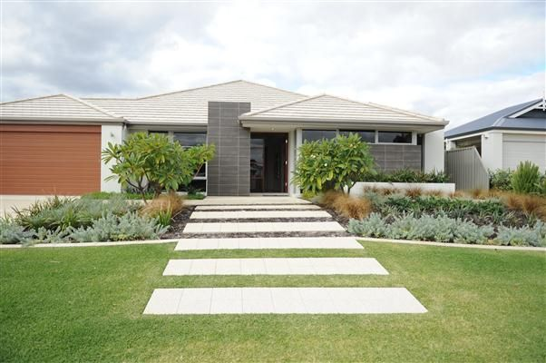 Harveyjenkin landscapes perth modern west australian Modern front yard landscaping