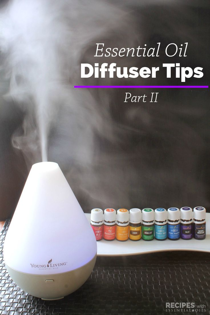Our Best Essential Oil Diffuser Tips Part 2 - Recipes with Essential Oils