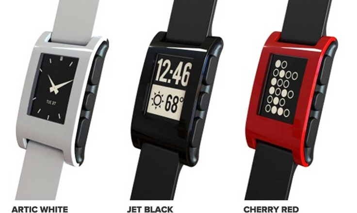 Pebble E-paper watch...