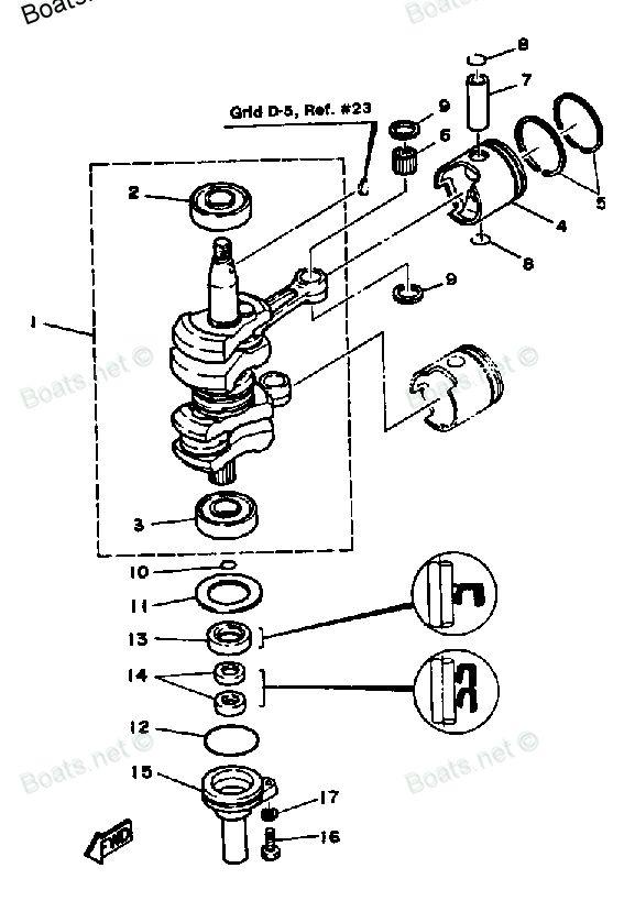 1985 Yamaha 25ESK Outboard service repair maintenance