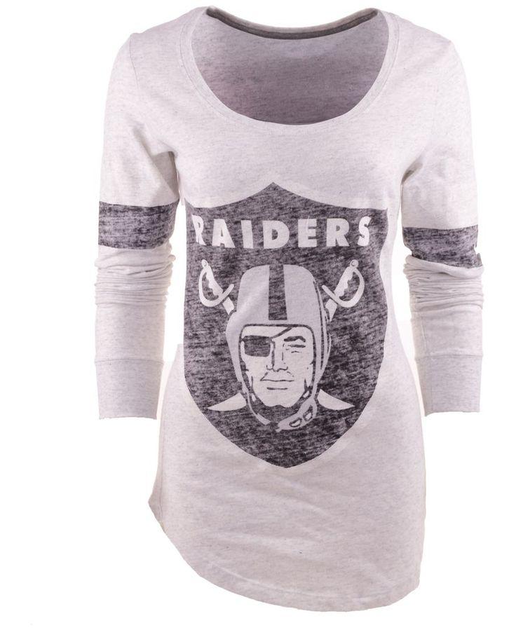 Nike Women's Long-Sleeve Oakland Raiders T-Shirt