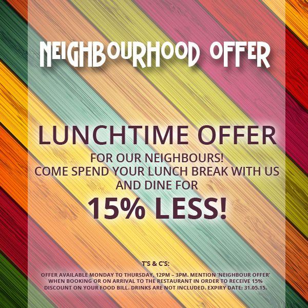 Neighbourhood Offer