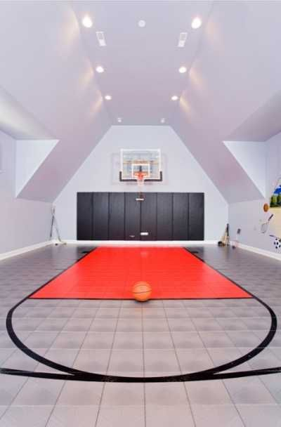 27 Indoor Home Basketball Court Ideas In 2021 Home Basketball Court Basketball Room Contemporary House