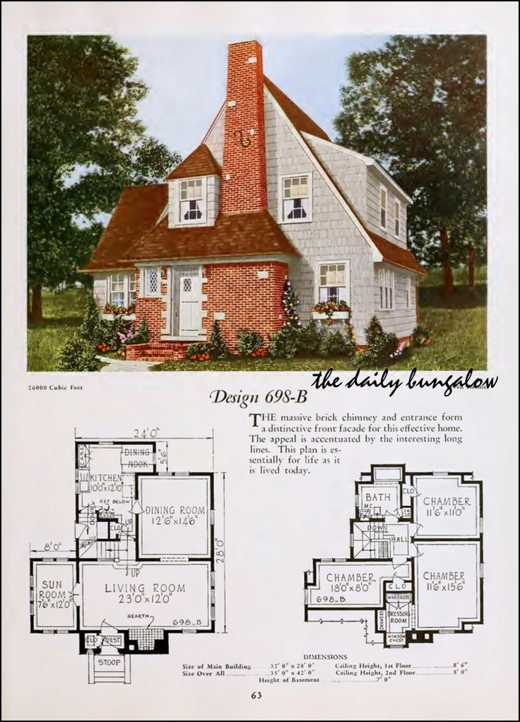 17 Best Images About Vintage Floor Plans On Pinterest
