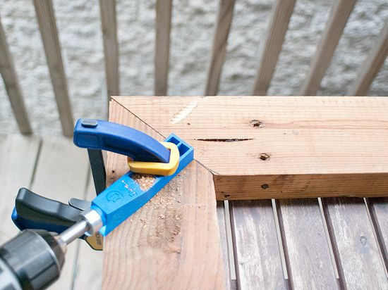 Diy A Big Honking Frame Here S How To Use A Kreg Jig On A