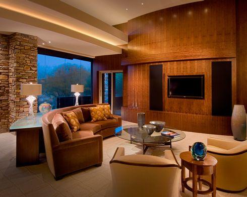 Living room by janet brooks design scottsdale az