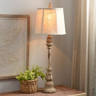 Summerhill Cream Harmon Buffet Lamp Dining Room