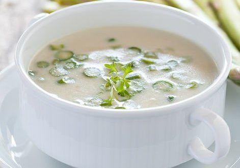 Diyet Kuşkonmaz Çorbası - Kolay Yemek Tarifleri