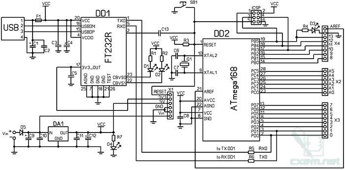 wiring single ds18b20 wired diagram schematics