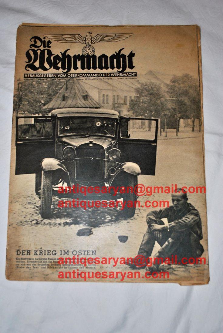 die wehrmacht magazine for sale