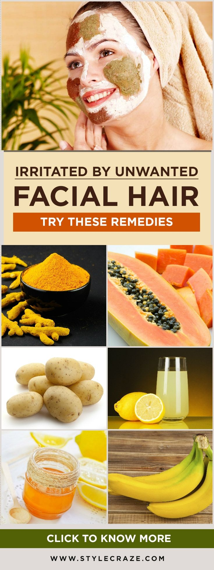 27 Easy Home Remedies To Get Rid Of Unwanted Facial Hair