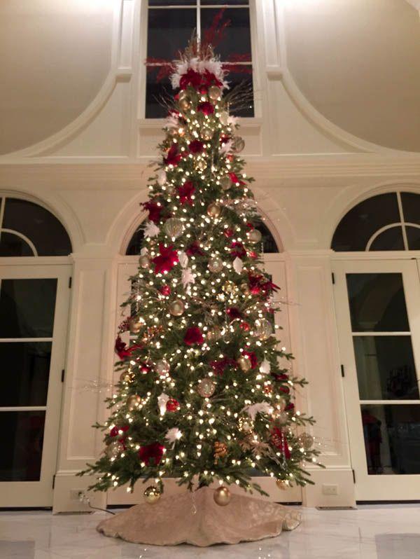 Elegant Christmas Tree Decorating Ideas | Christmas love | Pinterest ...