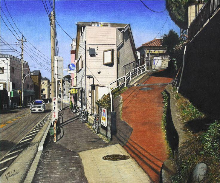 South-facing three-forked road ( Narimasu Itabashi-ku)