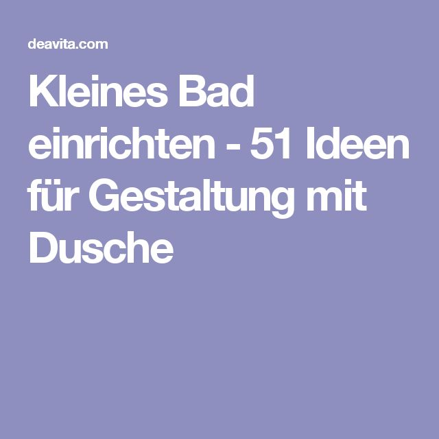 The 25+ best Kleines Bad Einrichten ideas on Pinterest ...