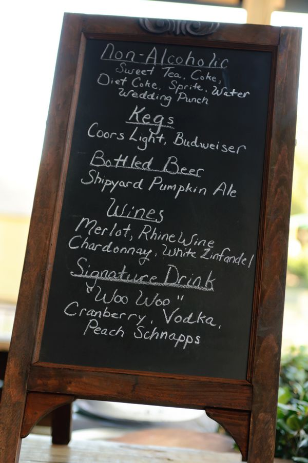 Top 25 ideas about Wedding Drink Menu on Pinterest | Rustic ...