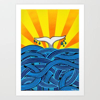 Aleta Art Print by Daniel Jackman - $17.68