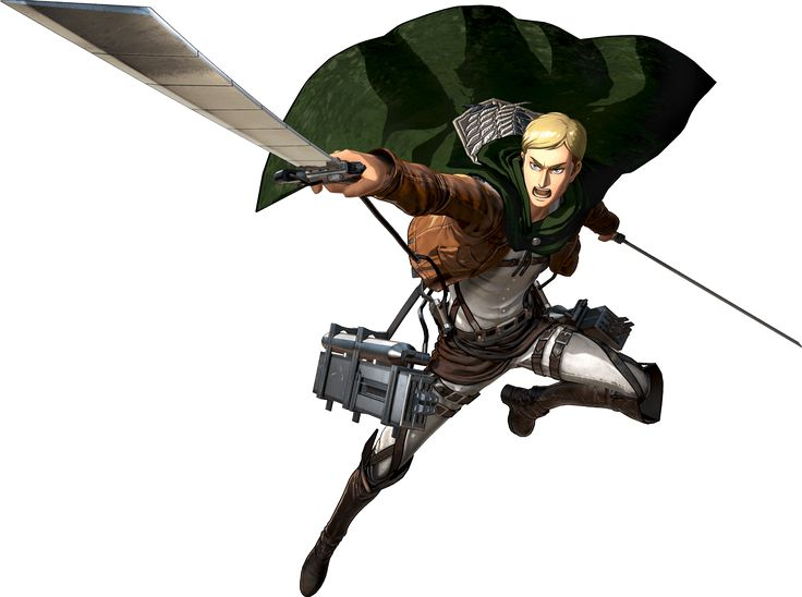 I really love Hanji and Erwin's transparents from the 2nd Koei Tecmo SnK game - so dynamic! :O