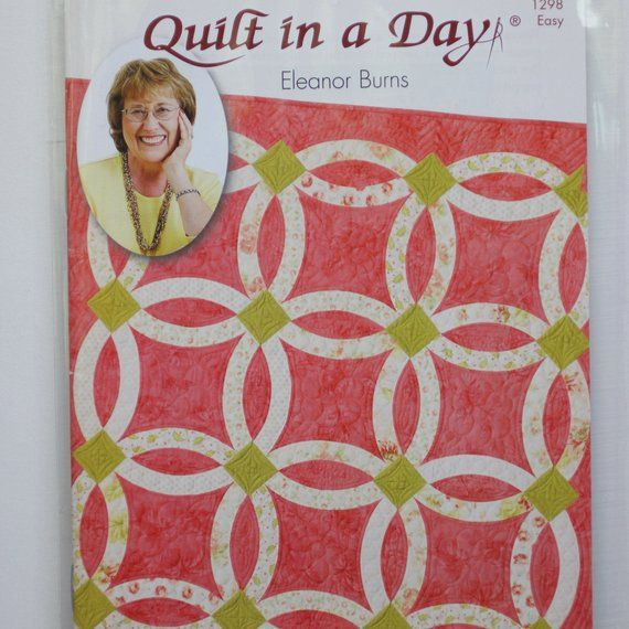 Quilt Pattern Nouveau Wedding Ring Quilt In A Day Easy