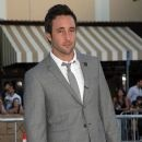 """Alex O'Loughlin arrives at the premiere of Warner Bros' """"Whiteout"""" on September 9, 2009 in Westwood, Los Angeles, California."""