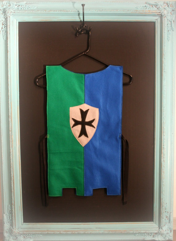 Knight Tunic with Cross and Shield