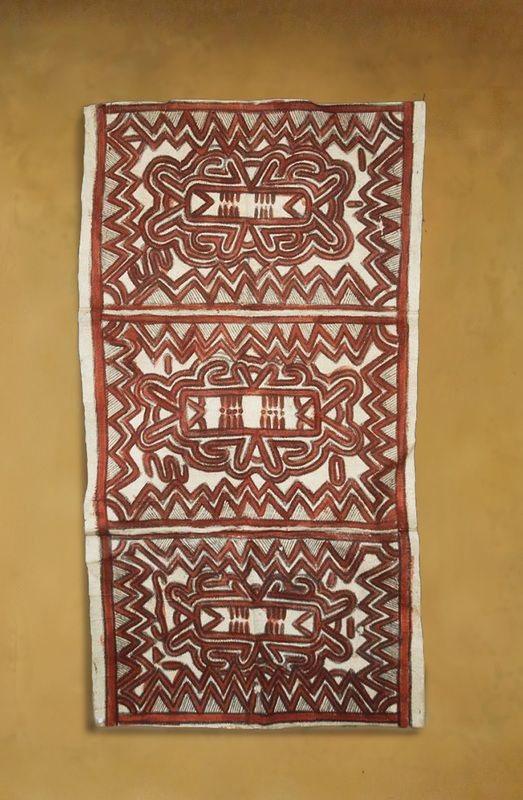 Papua New Guinea Bark cloth - Tapa Cloths from The Pacific and Artwork