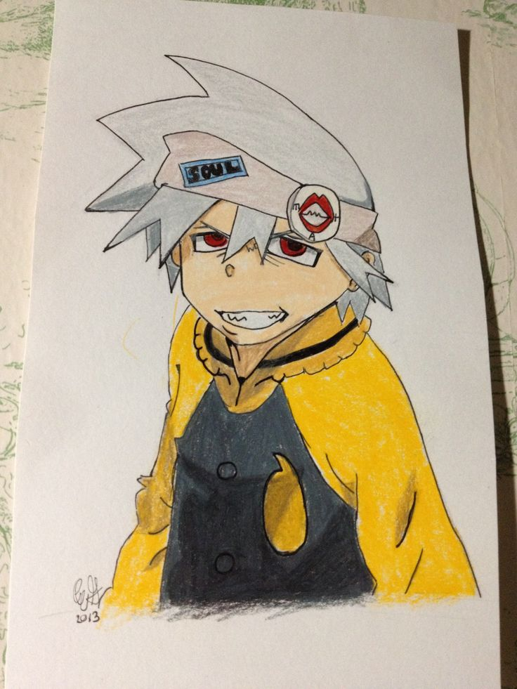 My drawing of Soul from Soul Eater