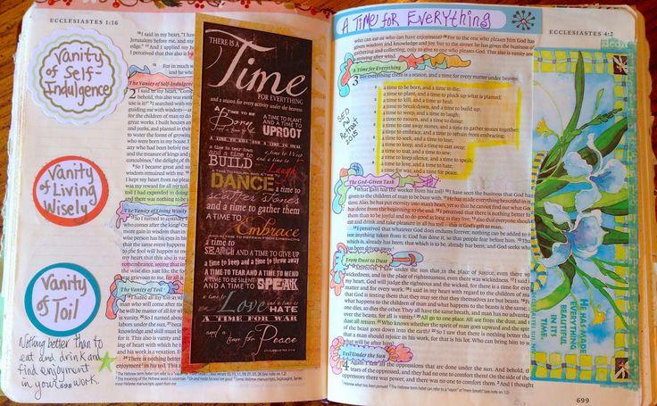 Vintage Grace: Bible Marginalia- Ecclesiastes 1-3