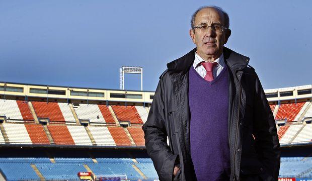 Javier Irureta. 8 años en el Atleti. Un grande, todo historia.