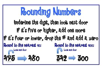 66 best images about rounding on pinterest simple poster