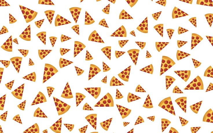Pizza Pattern Wallpaper Wide ~ Desktop Wallpaper Box