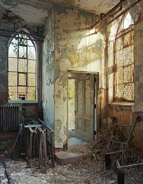 Morgue Entrance, North Brother Island ~ Christopher Payne