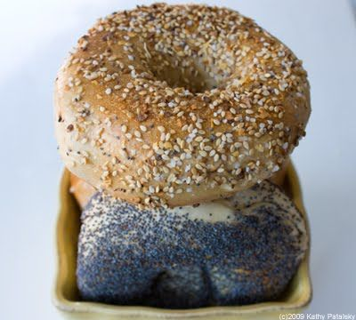 Vegan Bagels, H2O Brushed! Only in NYC. I miss NYC