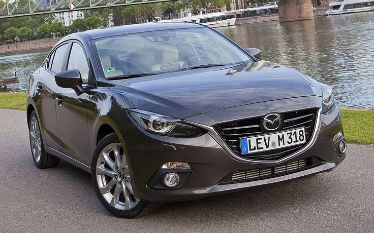 mazda 3   2014 Mazda3 Sedan Front 3-4 Right
