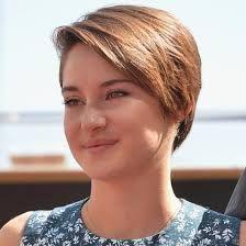 shailene woodley's short haircut... Soo, my new haircut looks exactly like this... :D