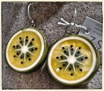 fruit power KIWI orecchini ZSISKA