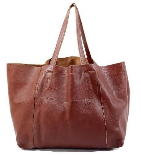 Veske / skinn / nett / tote / leather goods / Elion fra www.lyle-d.com