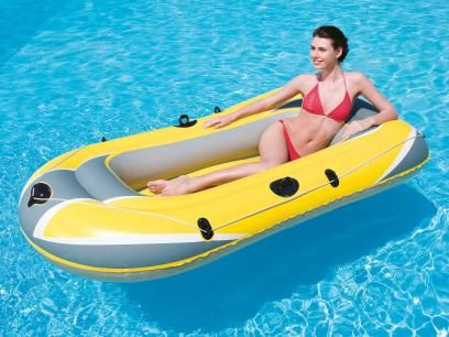 Bote Inflável 3 Pessoas - Bestway Hydro Force com as melhores condições você encontra no Magazine 1miguel. Confira!