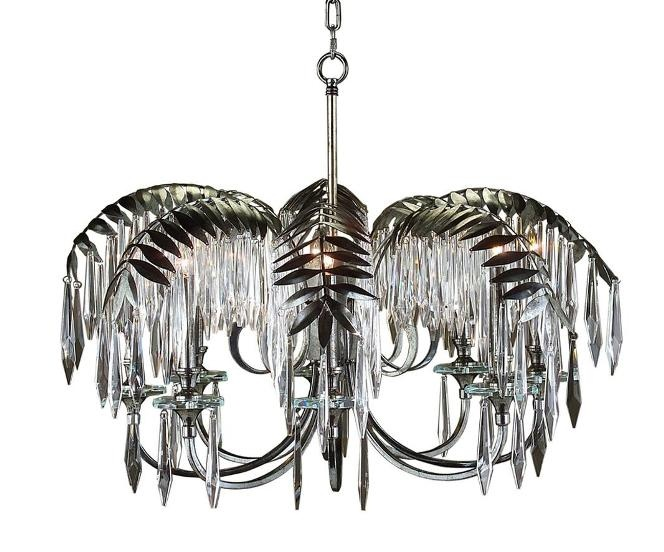 Palm Tree Chandelier :: Dripping In Awesomeness