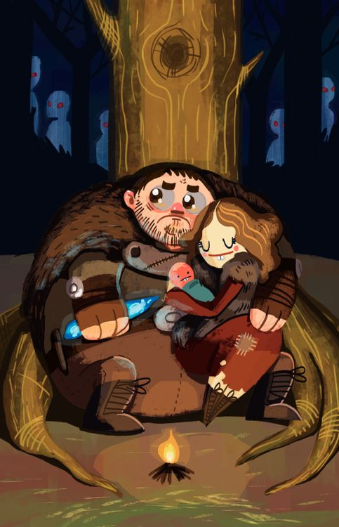 Sam and Gilly by CaityHallArt