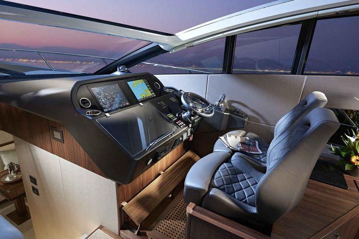 Predator 57, Sunseeker, yacht, express cruiser, Nicole Scherzinger, Lewis Hamilton | Yachting Magazine