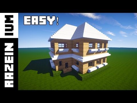 http://minecraftstream.com/minecraft-tutorials/minecraft-how-to-build-a-wooden-mansion-tutorial-3/ - Minecraft: How To Build a Wooden Mansion Tutorial #3  Minecraft: Wooden House / Mansion Tutorial (Easy) In this tutorial I will show you how to build a large wooden house / villa / mansion in Minecraft. This tutorial is easy to follow and should not take that long to make. I hope you enjoy the video and if you did, give it a like, and share the...